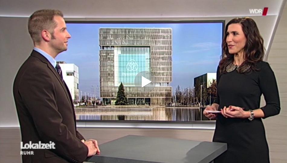 Sven Weisenhaus - Interview beim WDR